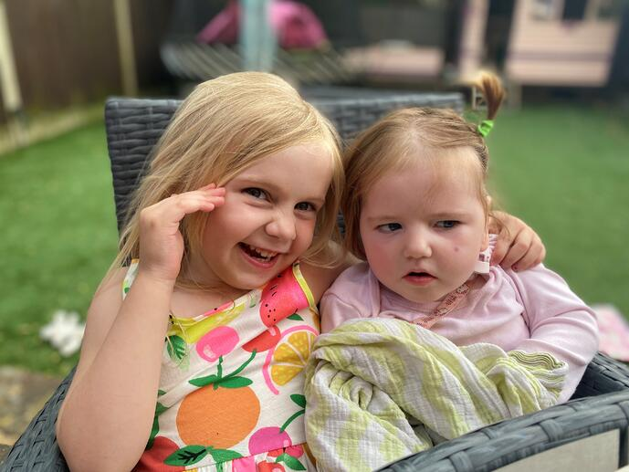 Why my five-year-old daughter is my inspiration as we fight to understand her sister's epilepsy