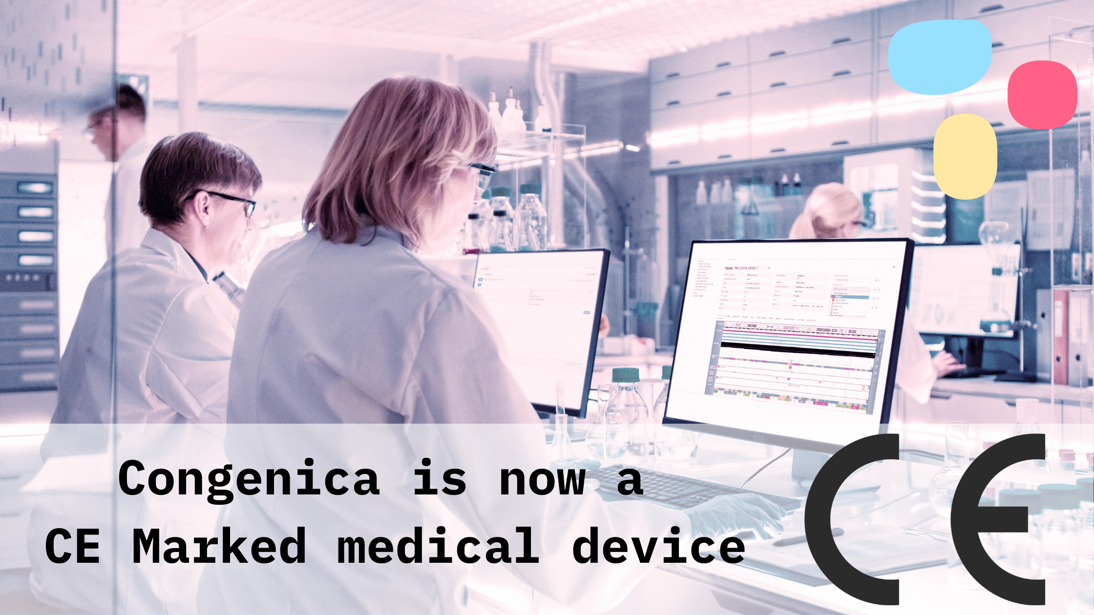 Congenica is now a CE Marked medical device