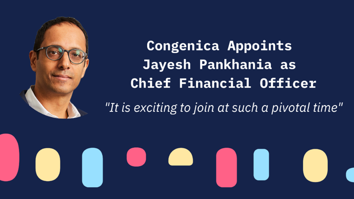Congenica Appoints Jayesh Pankhania as Chief Financial Officer