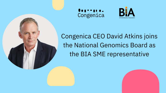 David Atkins joins the National Genomics Board as BIA representative