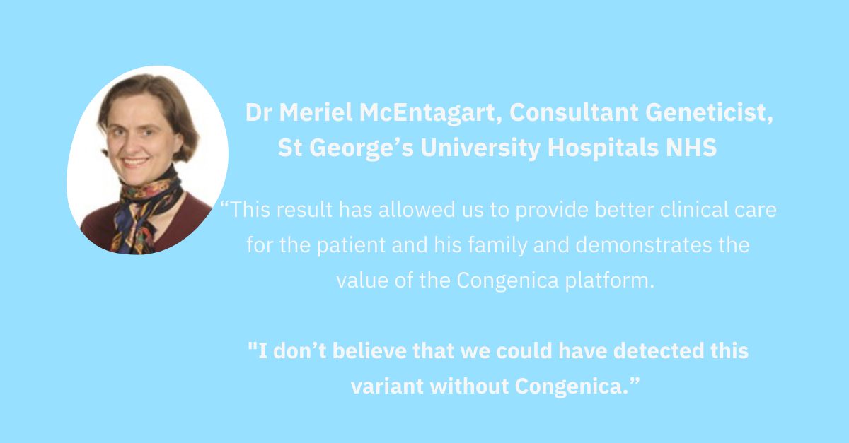Dr Meriel McEntagart, Consultant Geneticist, St George's University Hospitals NHS