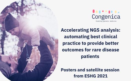 Accelerating NGS analysis at ESHG 2021