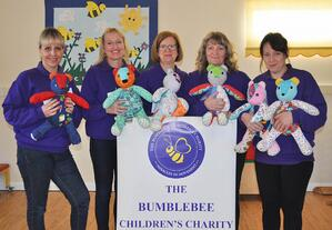 The Bumblebee Children's Charity receive their RARE Bears
