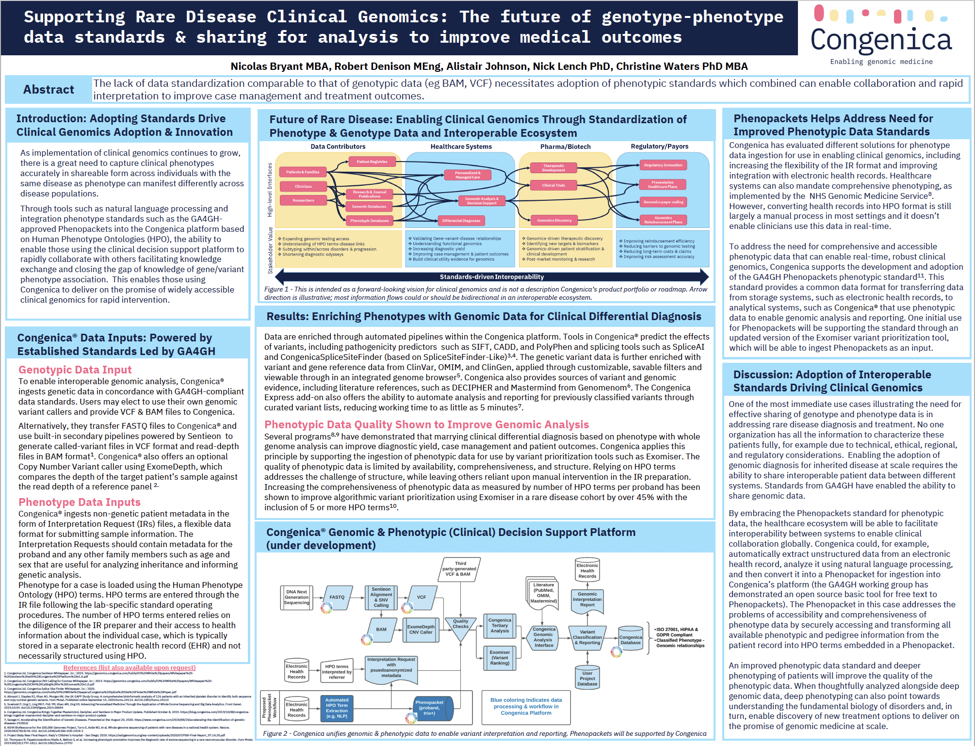 The future of genotype-phenotype data standards to improve outcomes